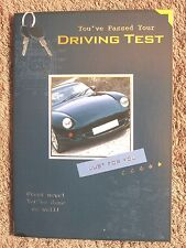passed driving test card~driving test card~quality cards~free p/packing~