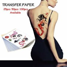 25/50/100 Sheets Tattoo Tracing Copy Paper Transfer Stencil Thermal Carbon