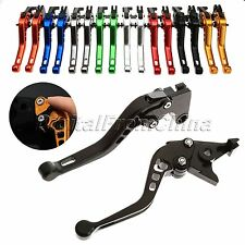 3D CNC Short Aluminum Clutch Brake Levers For Honda VFR750 CBF1000 2006-2009