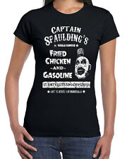 560 Captain Spaulding womens T-shirt scary movie devils corpses rejects 1000 new