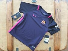 Brand New Genuine Barcelona 2016/17 Away Shirt Junior Infants Age 4 5 6