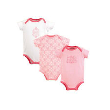 """Luvable Friends """"Pretty in Pink"""" Bodysuit 3 Pack - NWT"""