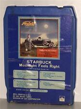 STARBUCK MOONLIGHT FEELS RIGHT RARE 8 TRACK TAPE TESTED LATE NITE BARGAIN!