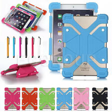 "US For 10"" 10.1"" inch Tablet Universal Adjustable Shockproof Silicone Case Cover"