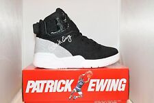 Mens Ewing Athletics Patrick Ewing 33 HI Weave Knit Collection Black / White NEW