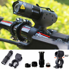 2000lm Cree Q5 LED Bike Cycling Bicycle Head Front Flashlight Light w/ 360 Mount