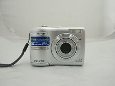 "Olympus FE-210 7.1 MP Digital Camera 2.5"" LCD Silver 3x Optical Zoom No Charger"
