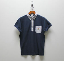 Mens Franklin And Marshall Short Sleeve Polo - Navy - ONLY £19 - SALE - SIZE L