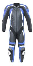 RST PRO SERIES II ONE PIECE MOTORCYCLE RACE LEATHERS BLACK BLUE WHITE 2017