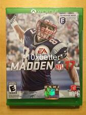 MADDEN NFL 17 XBOX ONE EA SPORTS FAST *FREE* SHIPPING HARD TO FIND WOW XBOX1 NEW