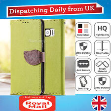 Flip Wallet Stand Leather Leaf Magnetic Case Cover For Samsung Galaxy S6 Edge
