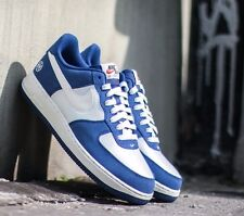 Youth Nike Air Force 1 Low GS 596728 438 Blue/White New Size 6.5Y - 7Y