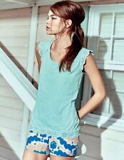 BRAND NEW Leila Top WL893 Sleeveless Tops at Boden 14 OCEAN