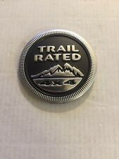 2010 Jeep Cherokee Trail Rated 4x4 Emblem Used