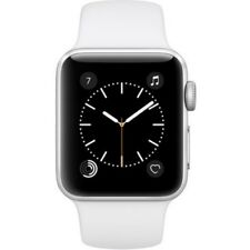 Apple Watch Series 2, MNNW2 38mm Silver Aluminum Case (with Sport Band)