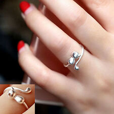 Sweet Animal Cat Open Finger Ring Jewelry Charm Women Party Prom Gift Sturdy