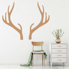 Deer Wall Sticker Stag Animal Antler Wall Decal Living Room Home Decor