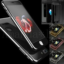 UK Mirror 360° Ultra Slim Case Tempered Glass Hard Cover For iPhone 6 6S 7 Plus