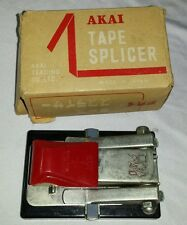 Vintage AKAI AS-3 Tape Splicer Reel to Reel with Box Made in Japan