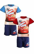 Boys Disney Cars Short Pyjamas Lightning McQueen Cars Pyjamas  Age 3 to 8 Years
