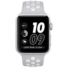 Apple Watch Nike+, 38mm Silver Aluminum Case (with Flat Nike Sport Band)