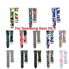 For Samsung Gear Fit 2 SM-R360 Silicone Replacement Wristwatch Band Strap Bracel