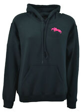 Adults - Ladies Horse Riding Hoodie Embroidered Logo Various Cols - FREE POSTAGE