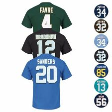 """NFL """"Eligible Receiver"""" HOF Retired Player Jersey T-Shirt Collection - Men's"""
