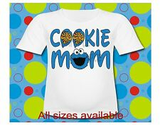 Sesame Street Cookie Mom Cookie Monster T Shirt All Sizes available Great shirt