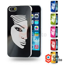 Beautiful Woman Face Image Engraved Personalized Metal Cover Case - iphone 5/5s