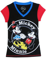Disney Mickey Mouse and Minnie Mouse Pajama Top