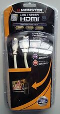 Monster Essentials High Performance Advanced High Speed Hdmi Cables 4ft 6ft 8ft