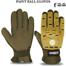 Paintball Gloves Hunting Airsoft Tactical Armoured Full Finger Protection Gloves