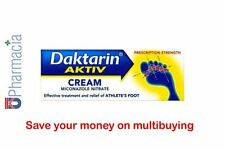 Daktarin Aktiv Anti-Fungal Athlete's Foot and Dry Skin Relief Cream 15g