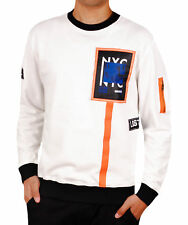 Patched Crew Neck Top from Bleecker & Mercer