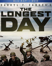 The Longest Day    *New*   (Blu-ray/DVD, 2015, 3-Disc Set)