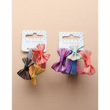 Girls elastics with bow, braiding bands, mini elastic hair bands hair accessory