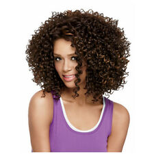 Afro kinky Curly Dark Brown Wigs For Black Women Short Curly Wig cheap full Wig