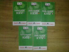 Fan Guide UEFA EURO 2012 Ukraine & Poland - host city Kiev (5 different - see)