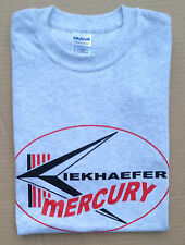 Kiekhaefer Mercury Vintage Style Outboard Motor Shirt Retro Nautical Ash Gray