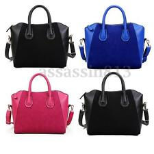 AU Women Girls PU Leather Shoulder Bag Tote Handbag Messenger Satchel Crossbody