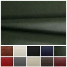 HEAVY FEEL FAUX LEATHER LEATHERETTE VINYL PVC UPHOLSTERY MATERIAL FABRIC