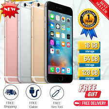"Apple iPhone 6/5 Gold 16GB 64GB 128GB ""Factory Unlocked"" 4G LTE Smartphone Z55"
