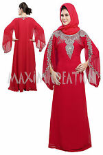 ELEGANT MODERN FANCY MOROCCAN CAFTAN THOBE WEDDING GOWN FANCY JILBAB DRESS 5205