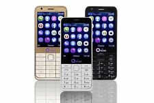 OEINA Four SIM Card Mobile Phone Quad Band Bluetooth FM Camera 2.8'' Cellphone