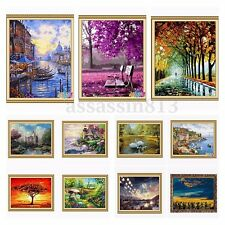 DIY Paint By Number Kit Beautiful Painting On Canvas Home Wall Decor 16''x20''