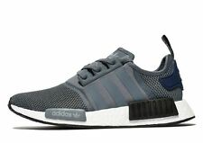 Adidas NMD R1 Runner Grey/Onyx/Black/Blue Sizes 8-13 S76842 w/Receipt*