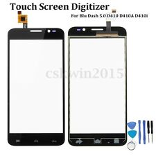 Touch Screen Digitizer Glass Lens Replace+Tool For Blu Dash 5.0 D410 D410A D410i