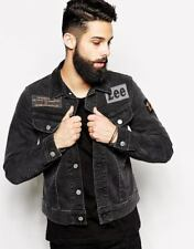 NEW LEE x O.ANDERSSON DESIGNER SLIM RIDER DENIM JACKET BLACK PATCH 101 S/M/L/XL
