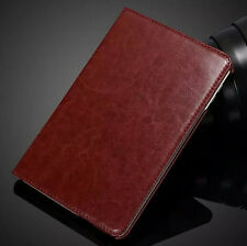 360 Rotation Flip Stand Leather Card Case Smart Cover Skin For Apple iPad Mini 4